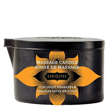 Massage Oil Candle - Coconut Pineapple - 6 Oz. - KG