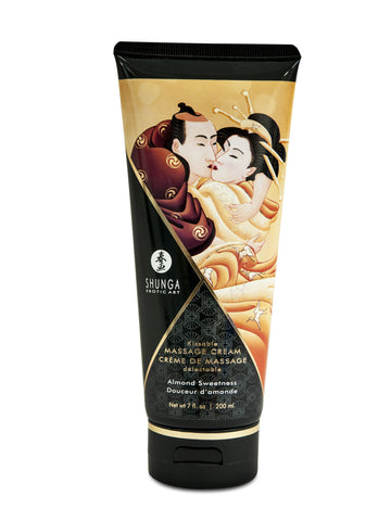 Kissable Massage Cream - Almond Sweetness - 7 Fl. Oz. / 200 ml - KG