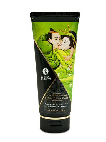 Kissable Massage Cream - Pear & Exotic Green Tea  - 7 Fl. Oz. / 200 ml - KG