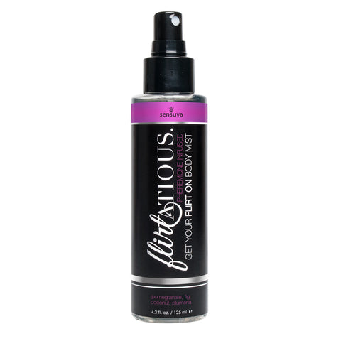 Flirtatious Pheromone Infused Body Mist - Pomegranate, Fig, & Plumeria - 4.2 fl.oz /125ml - KG