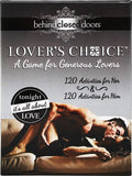 Behind Closed Doors - Lover's Choice - Kissy Games
