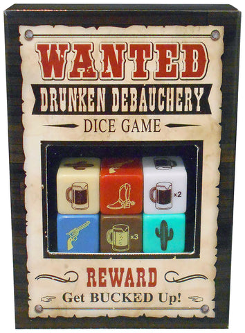 Wanted Debauchery Dice