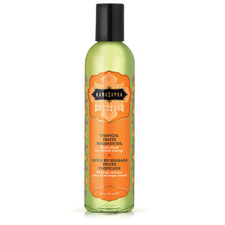 Naturals Massage Oil - Tropical Fruits - 8 Fl. Oz. - KG