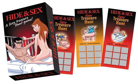 Hide and Sex! a Sexy Treasure Hunt Game! - KG