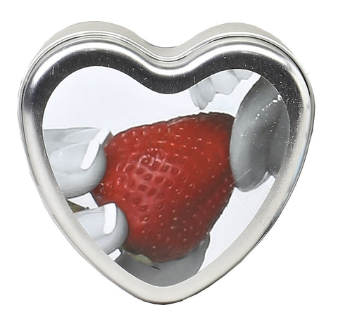 Strawberry Edible Body Candle - 4.7  Oz. - KG