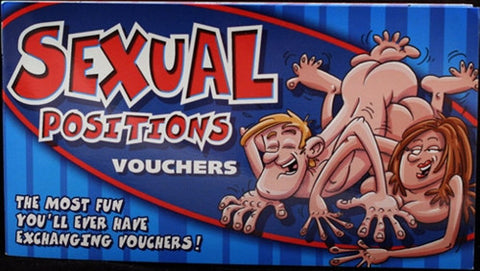 Sexual Positions Vouchers - KG