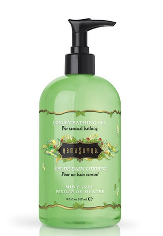 Bathing Gel Mint Tree - 17.5 Oz. - Kissy Games