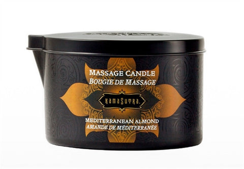 Massage Oil Candle - Mediterranean Almond - 6 Oz. - KG