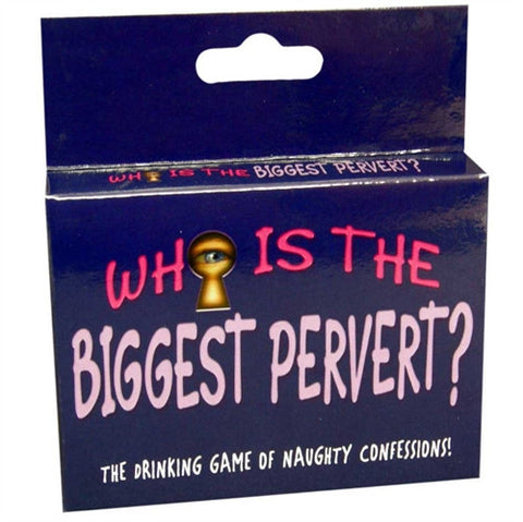 Who Is the Biggest Pervert? - Adult Card Game KG-BGC103