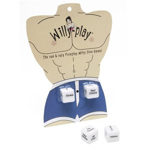 Willy-Play Sex Dice Game for Men BC-DG02