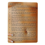 Rules for Sexual Nirvana the erotic card game
