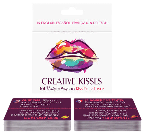 Creative Kisses - 100 Unique Ways to Kiss Your Lover - KG