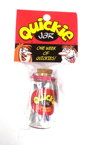 Quickie Jar - Each OZ-SJ-01-E