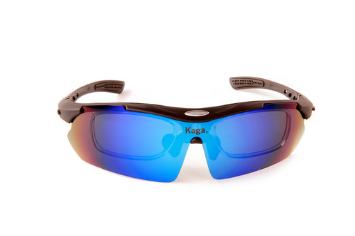 AREO Blue Steel Polarised + FREE Interchangeable Strap