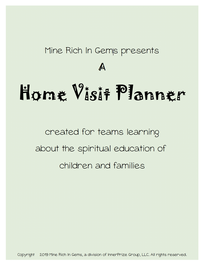 Planner for Home Visits