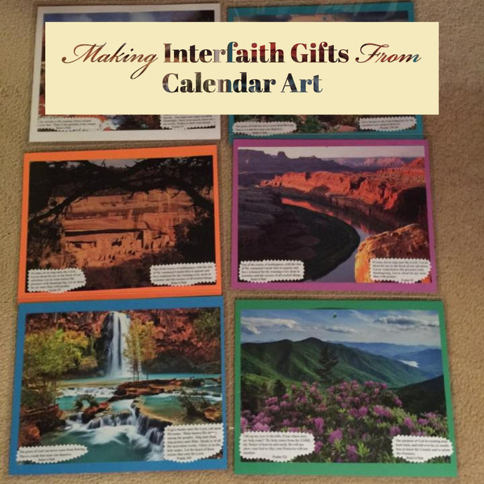 Teaching with Abdu'l-Bahá's Quotations on Repurposed Calendars!