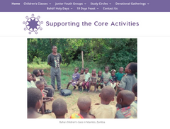 Supporting the Core Activities website