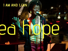 Andrea Hope I am and I can