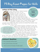 FREE PAGES | LIONHEARTS Month 05 | The Letters of the Living | DIGITAL DOWNLOAD