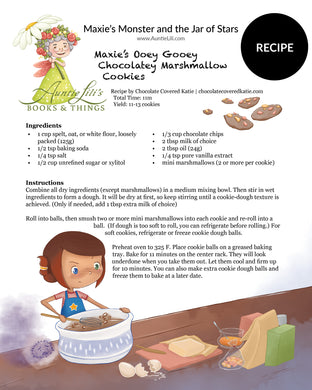 MAXIE'S Monster and the Jar of Stars | Recipe Activity | DOWNLOAD