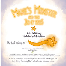 MAXIE'S Monster and the Jar of Stars PAPERBACK CHILDREN'S PICTURE BOOK
