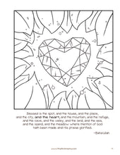 Blessed is the Spot - Coloring and Activity Pages