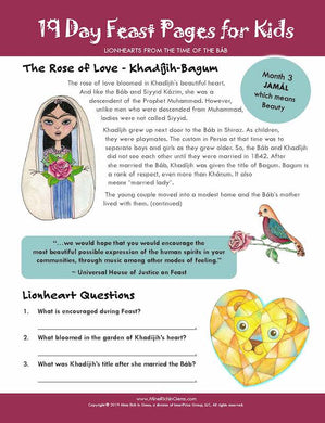 LIONHEARTS | Month 03 | The Rose of Love - Khadíjih-Bagum