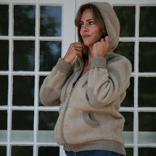GORDIE GAL- CASHMERE HOODED SWEATSHIRT