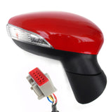 Race Red Right Side Complete Door Wing Mirror Ford Fiesta mk7 2013-17