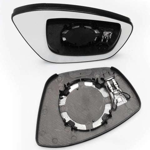Peugeot 208 2008 Door Wing Mirror Replacement Glass Right Drivers Side