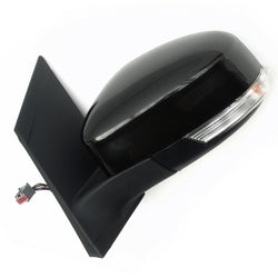 Ford Focus mk2 Left Side Wing Mirror with Metallic Black Cover