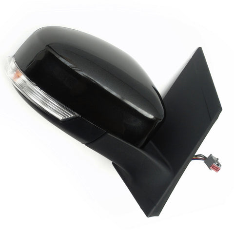 Ford Focus Right Side Door Wing Mirror with Metallic Black Cover