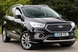 Ford Kuga / ecosport Panther Black Stealth ST Line Wing Mirror Covers Caps