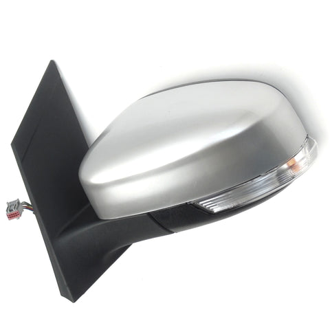 Ford Focus mk2 Left Side Door Wing Mirror Unit with Silver Cover