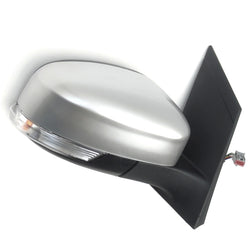 Ford Focus mk2 Right Side Door Wing Mirror Unit with Silver Cover