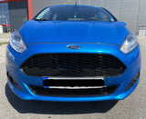 Ford Fiesta mk7 2013-17 Honeycomb Zetec S Style Front Grilles Gloss Black