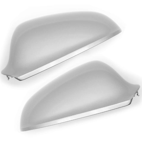 Vauxhall Astra J Sovereign Silver Door Wing Mirror Covers Caps Pair