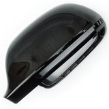 Audi A3 Q3 A4 A5 A6 Black Door Wing Mirror Cover Left Passenger Side