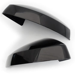 Audi A3 S3 RS3 8V Gloss Black Door Wing Mirror Covers Caps Casings