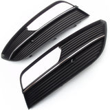Audi A3 2013-2016 Front Bumper Fog Light Grilles Covers Pair Left and Right