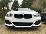 BMW 1 Series F20 F21 2015 - 2019 Gloss Black Front Grilles Surrounds Covers