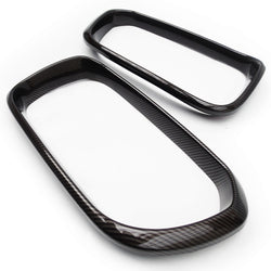 Black Carbon Fibre Effect Front Grilles Covers BMW 1 Series F20 F21 2015-19