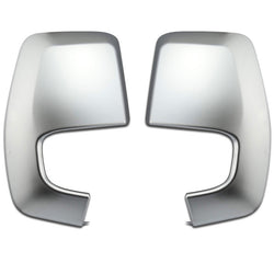 Ford Transit Custom Van 2012-19 Satin Chrome Silver Wing Mirror Covers Caps