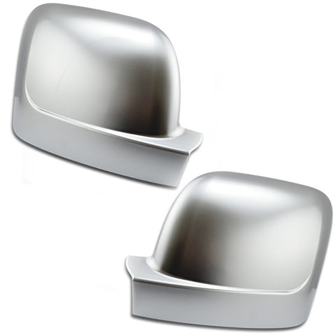 Renault Trafic 2014-19 Satin Chrome Silver Wing Mirror Covers Caps