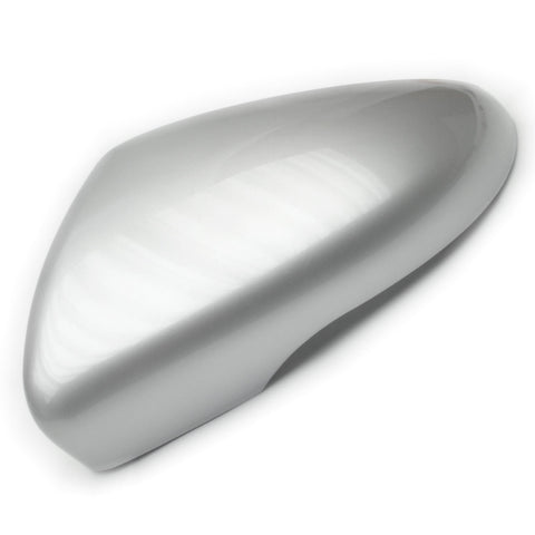 VW Golf mk6 Reflex Silver Door Wing Mirror Cover Cap Casing Left Passenger Side