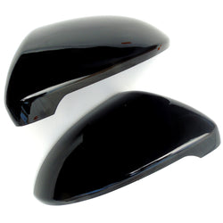 VW mk7 Golf R Style Gloss Black Wing Mirror Covers Caps