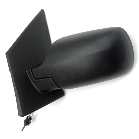 Ford Fiesta mk6 Left Passenger Nearside Door Wing Mirror Unit Black