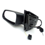 VW Polo 2005 - 09 Wing Mirror Unit Left Side with Black Cover