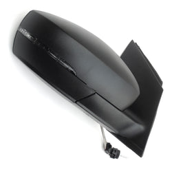 VW Polo 09 - 17  Wing Mirror Unit Right Drivers Side Black Cover