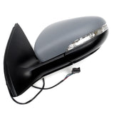 VW Golf mk6 2009 - 2012 Wing Mirror Left Side with Primed Cover